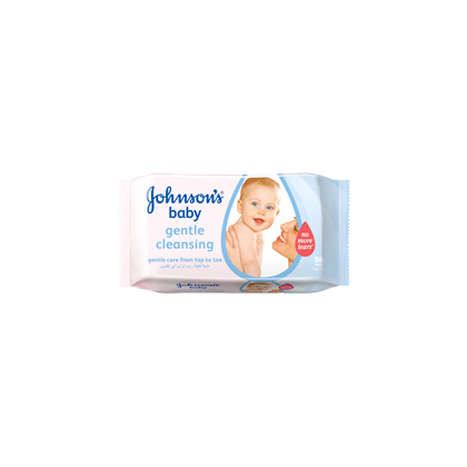 JOHNSON'S® Baby Gentle Cleansing Wipes - Baby Wipes | JOHNSON'S® Baby Arabia