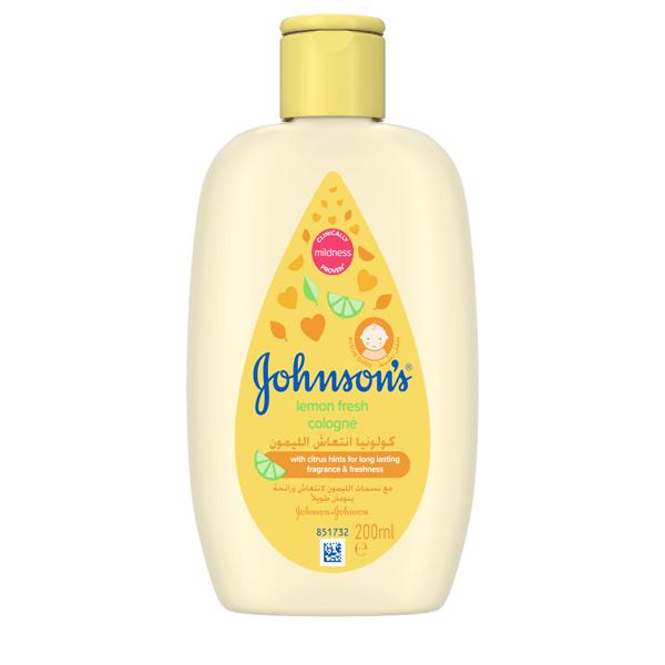 Johnson's® baby lemon fresh cologne the best lemon fresh cologne for your baby.