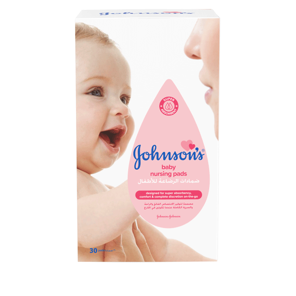 Johnson's® baby nursing pads the best nursing pads for your baby.