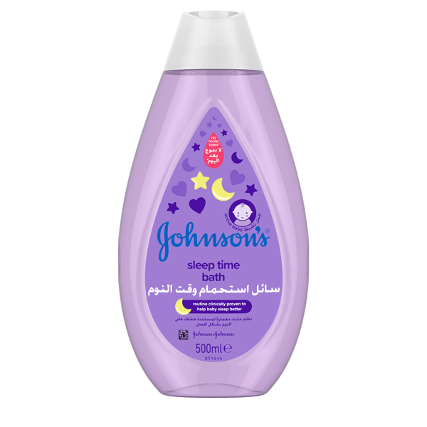 Johnson's® baby bedtime bath the best bath for your baby.