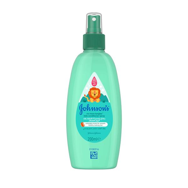 Johnson's® baby no more tangles™ kids conditioner spray the best conditioner spray for your baby.
