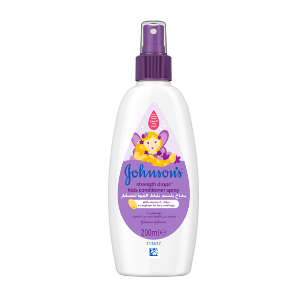 Johnson's® baby strength drops™ kids conditioner spray the best conditioner spray for your baby.