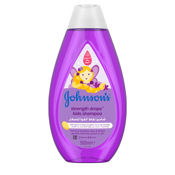 Johnson's® baby strength drops™ kids shampoo the best shampoo for your baby.