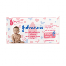 JOHNSON'S® Gentle All Over Wipes