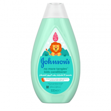 Johnson's® baby no more tangles™ kids conditioner the best conditioner for your baby.
