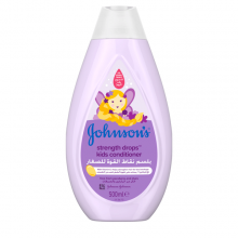 Johnson's® baby strength drops™ kids conditioner the best conditioner for your baby.