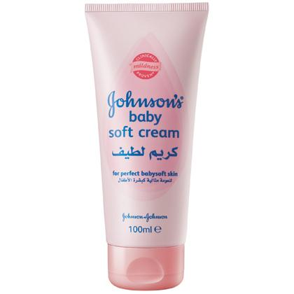 JOHNSON'S® Baby Soft Cream