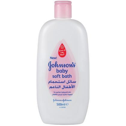 JOHNSON'S® Baby Soft Bath
