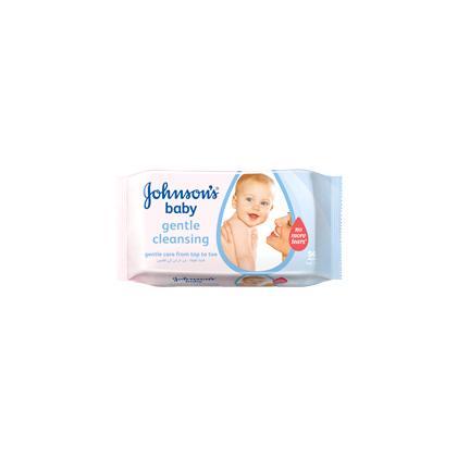 مناديل JOHNSON'S® Baby للتنظيف اللطيف