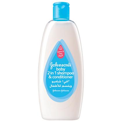 JOHNSON'S® Baby 2-in-1 Shampoo & Conditioner