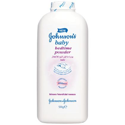 JOHNSON'S® Baby BEDTIME POWDER™
