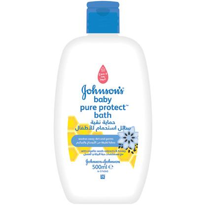 JOHNSON'S® pure protect kids bath and wash