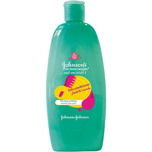 JOHNSON'S® Kids Conditioner for easy hair combing